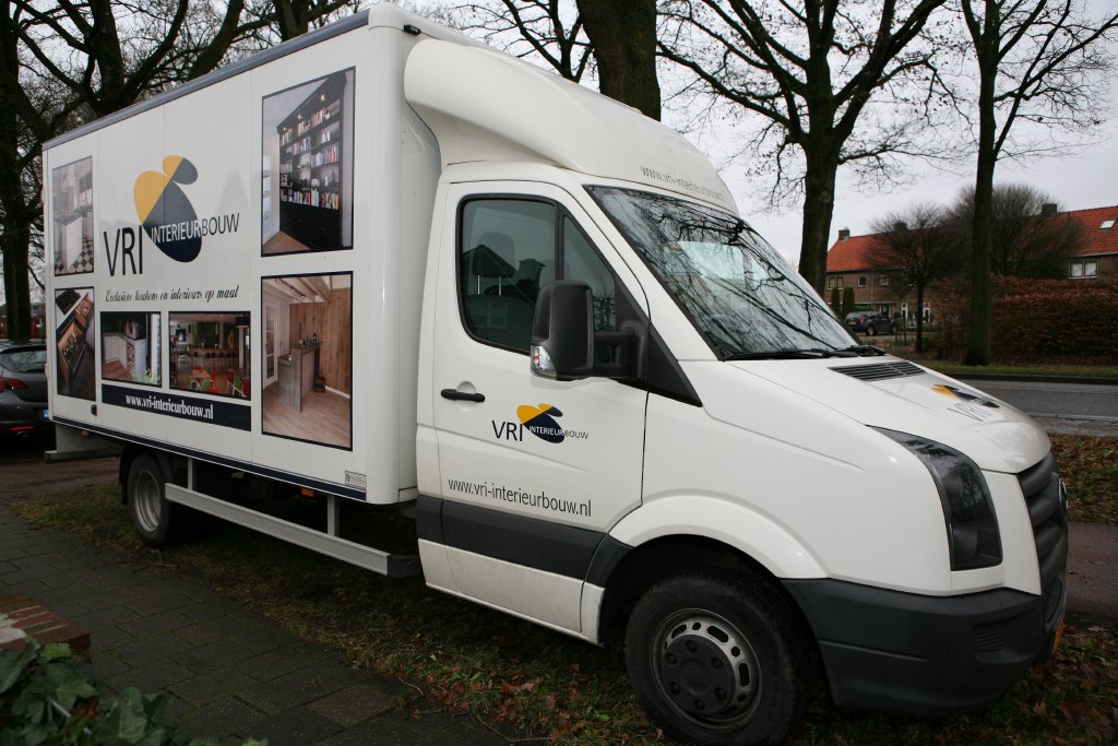 VRI interieur Amerongen transport met bakwagen