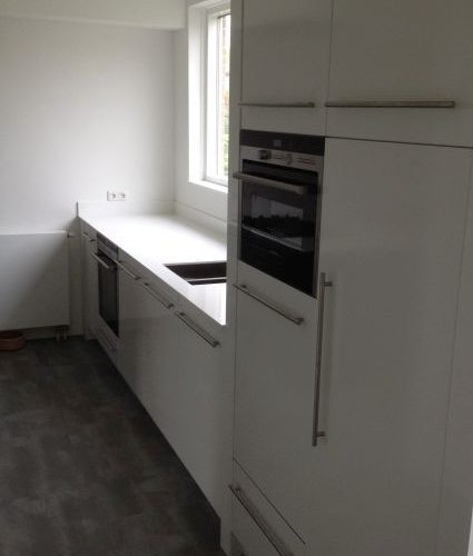 VRI interieur: design keuken in hoogglans