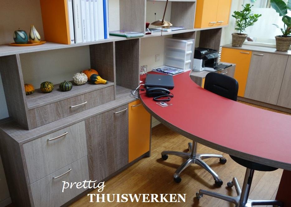VRI interieur thuiswerken thuiswerkplek werkkamer