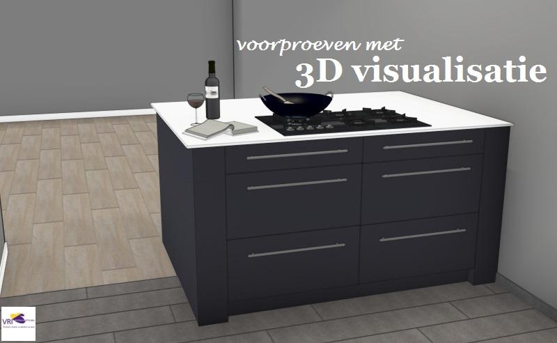 3D visualisatie 3D ontwerpen