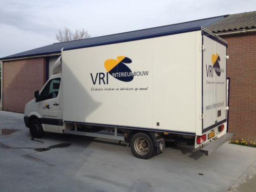VRI interieur: transport beursstand