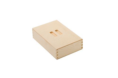 VRI interieur: exclusieve houten box