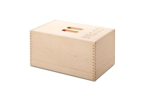 VRI interieur: exclusieve houten broodbox