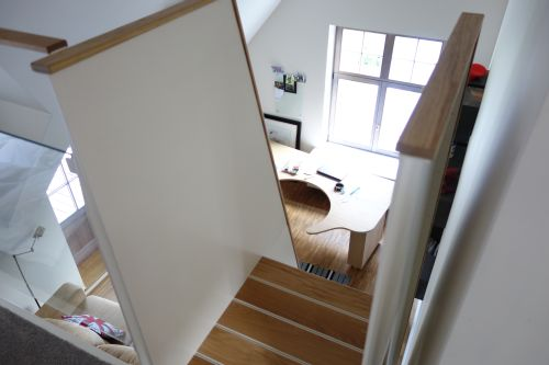 ORION ontwerp / VRI interieur: exclusieve stalen trap