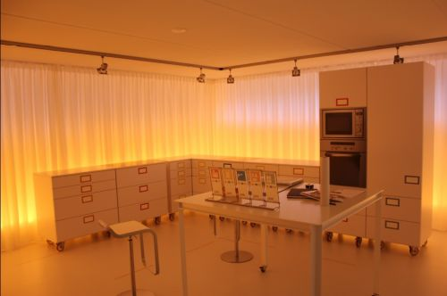 VRI interieur proefrit keuken