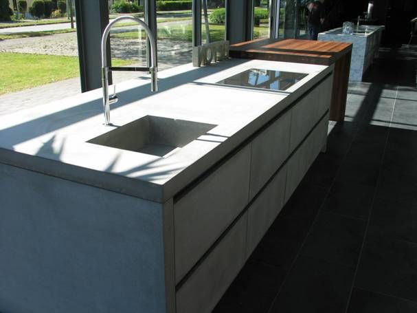 VRI interieur FMM betonnen werkblad keuken