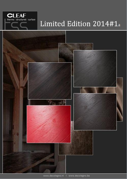 VRI interieur: moodboard Decolegno limited edition 2014