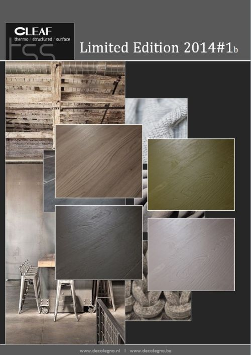 VRI interieur: moodboard Decolegno limited edition 2014