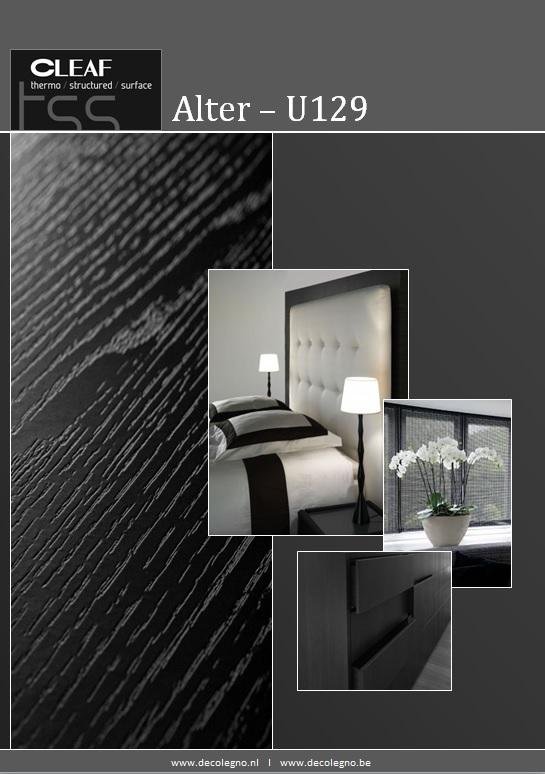 VRI interieur: moodboard Decolegno structuur Alter U129