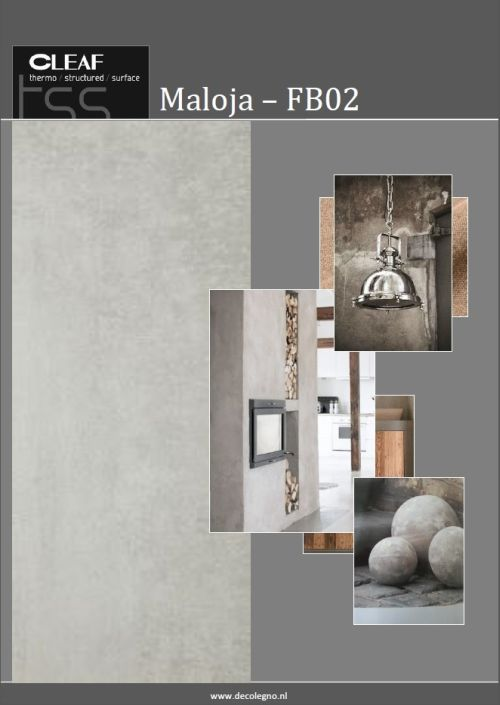 VRI interieur: moodboard Decolegno structuur Maloja FB02