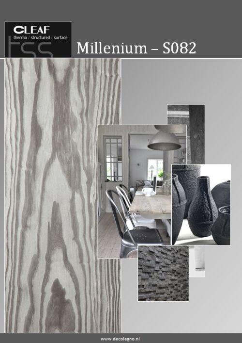 VRI interieur: moodboard Decolegno structuur Millenium S082
