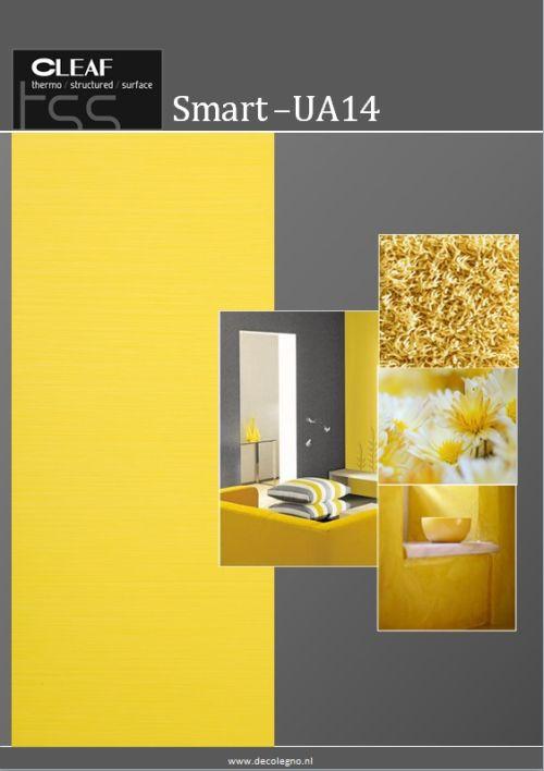 VRI interieur: moodboard Decolegno structuur Smart UA14