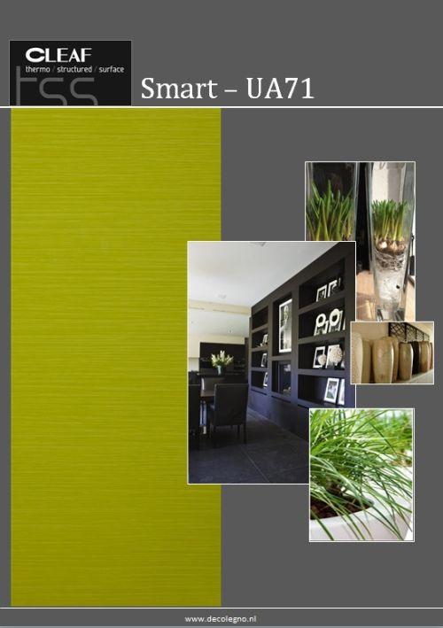 VRI interieur: moodboard Decolegno structuur Smart UA71