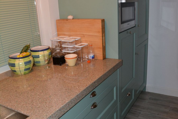 VRI interieur: landelijke keuken met Lacanche fornuis