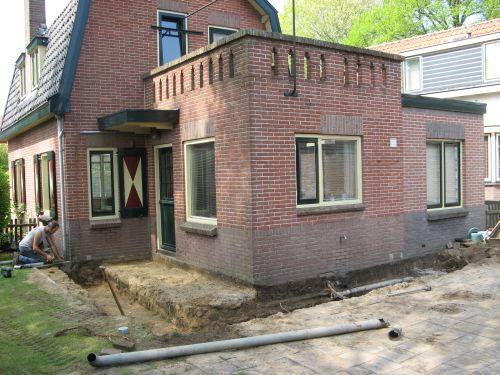 VRI interieur: verbouwing keuken en bovenverdieping