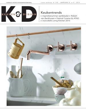 VRI interieur in vakblad Keuken & Design