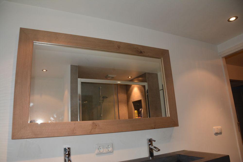 Badkamermeubel Landelijk Modern.Badkamer Eiken Verweerd Amerongen Vri Interieur