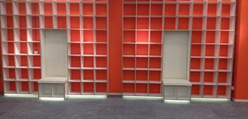 Kantoor/winkel interieur